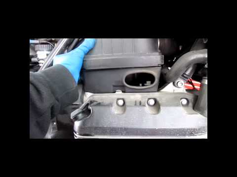 BMW Service - K75, K100 & K1100 Air Filter Replacement