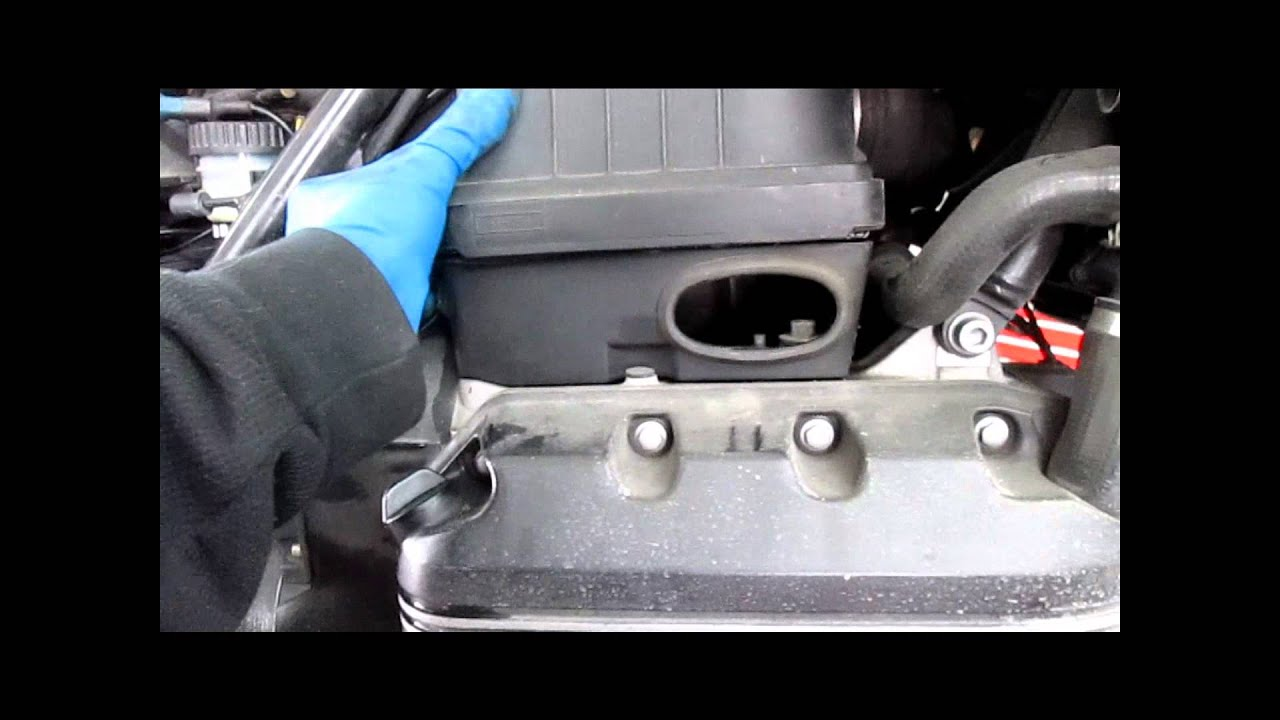 Bmw Service K75 K100 Amp K1100 Air Filter Replacement Youtube