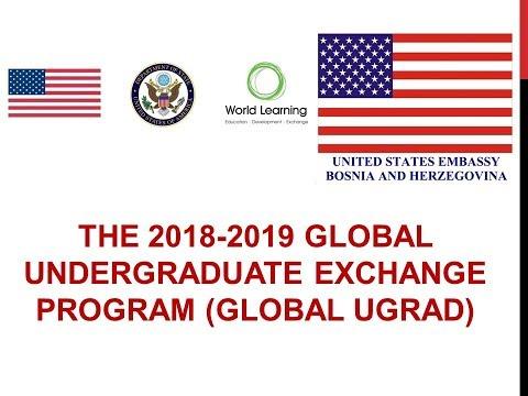 The 2018-2019 Global UGRAD Program Information Session