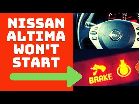 Nissan Altima Won't Start (2 Easy Fixes)