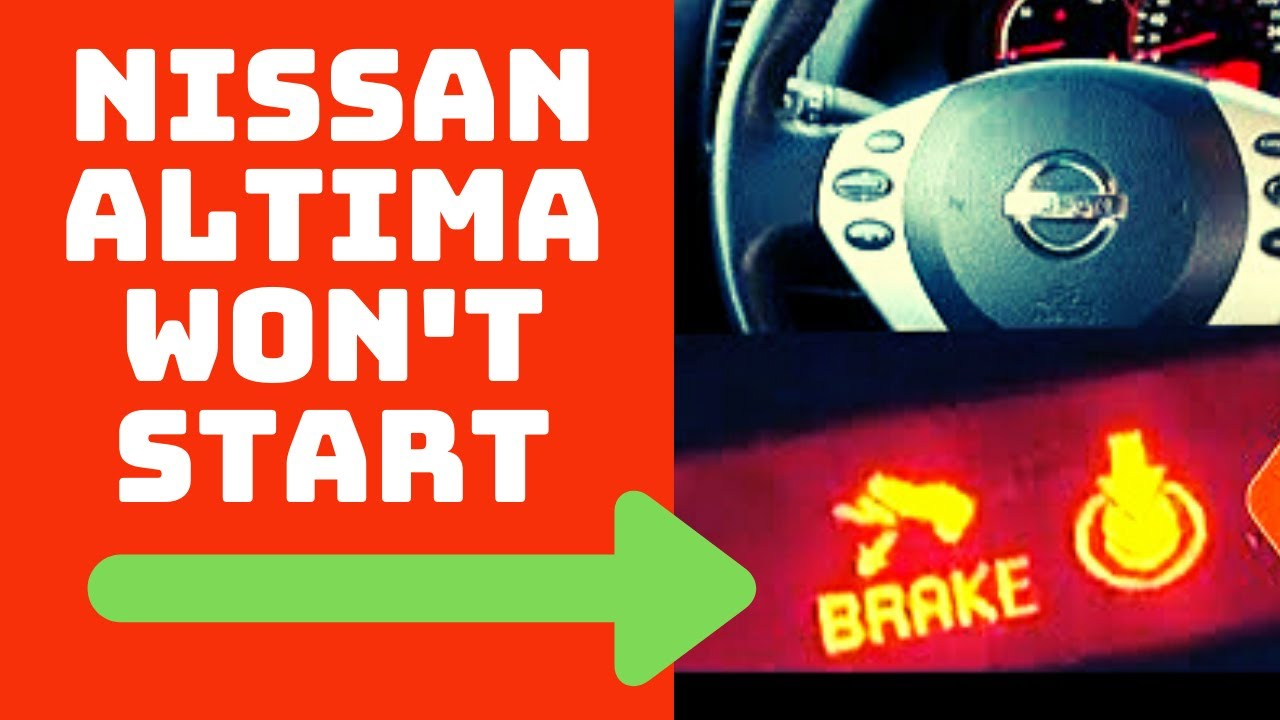 small resolution of nissan altima won t start 2 easy fixes