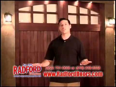 Radford Garage Doors Youtube