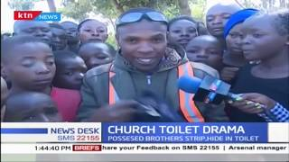 2 brothers from Bungoma strip and hide in a toilet to allegedly avoid sorcery trap in Nakuru