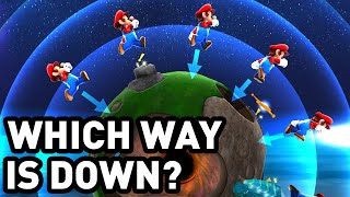 How Spherical Planets Bent the Rules in Super Mario Galaxy