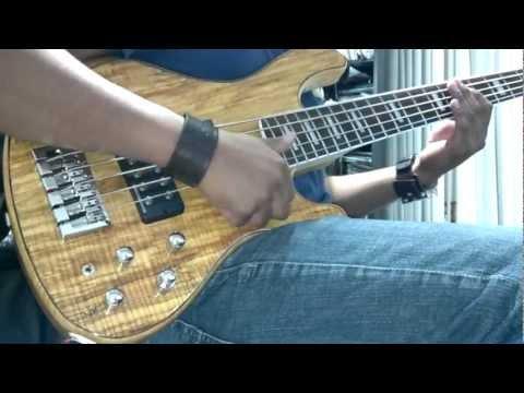 Bass slap improv Cort GB-5 custom (Roberto Falcon)