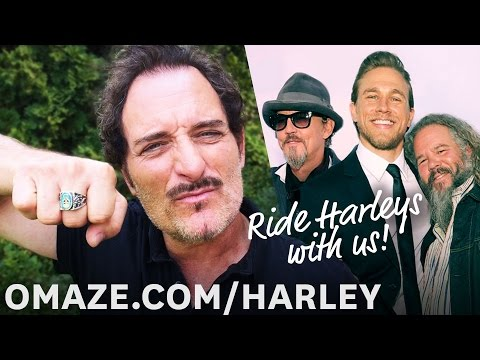 The Sons of Anarchy cast reunites for one last Harley ride… for charity