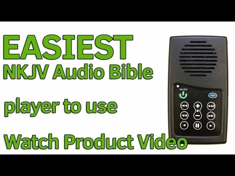 NKJV Audio Bible Player, EASIEST Audio Bible in the world to use