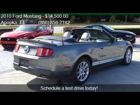 2010 ford mustang v6 premium 2dr convertible for sale in apo youtube. Black Bedroom Furniture Sets. Home Design Ideas