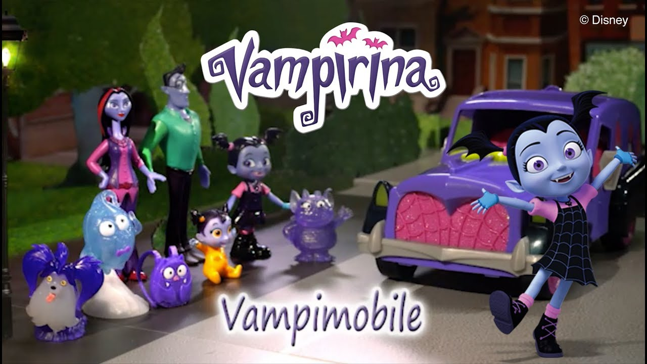 Giochi Preziosi | Vampirina Vampimobile e Personaggi - YouTube
