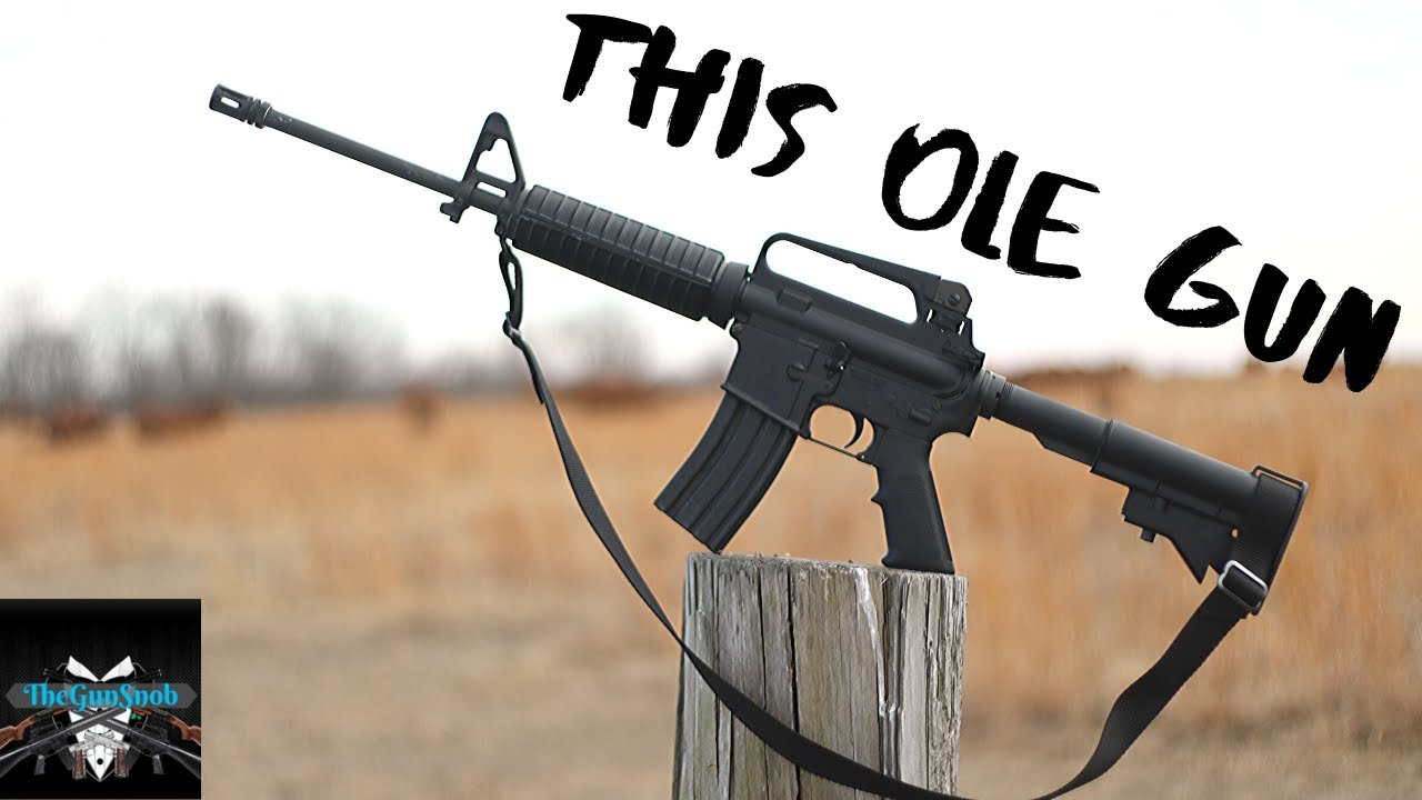 This Ole Gun Episode 03: The Colt AR-15 A2 Gov't Carbine