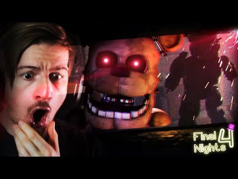 THIS ABANDONED HOUSE IS HAUNTED BY ANIMATRONCS!? || Final Nights 4 (This game is crazy..) thumbnail