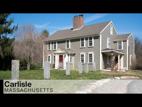Video Of 501 Lowell Street | Carlisle, Massachusetts Real Estate And Homes