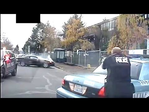 Seattle Police Release Dash Cam Video Of Wild Car Chase That Ended In Fatal Shooting By 11 Cops!