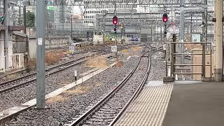 東海道線185系0番台宮オオA7編成+C4編成湘南ライナー2号東京駅到着