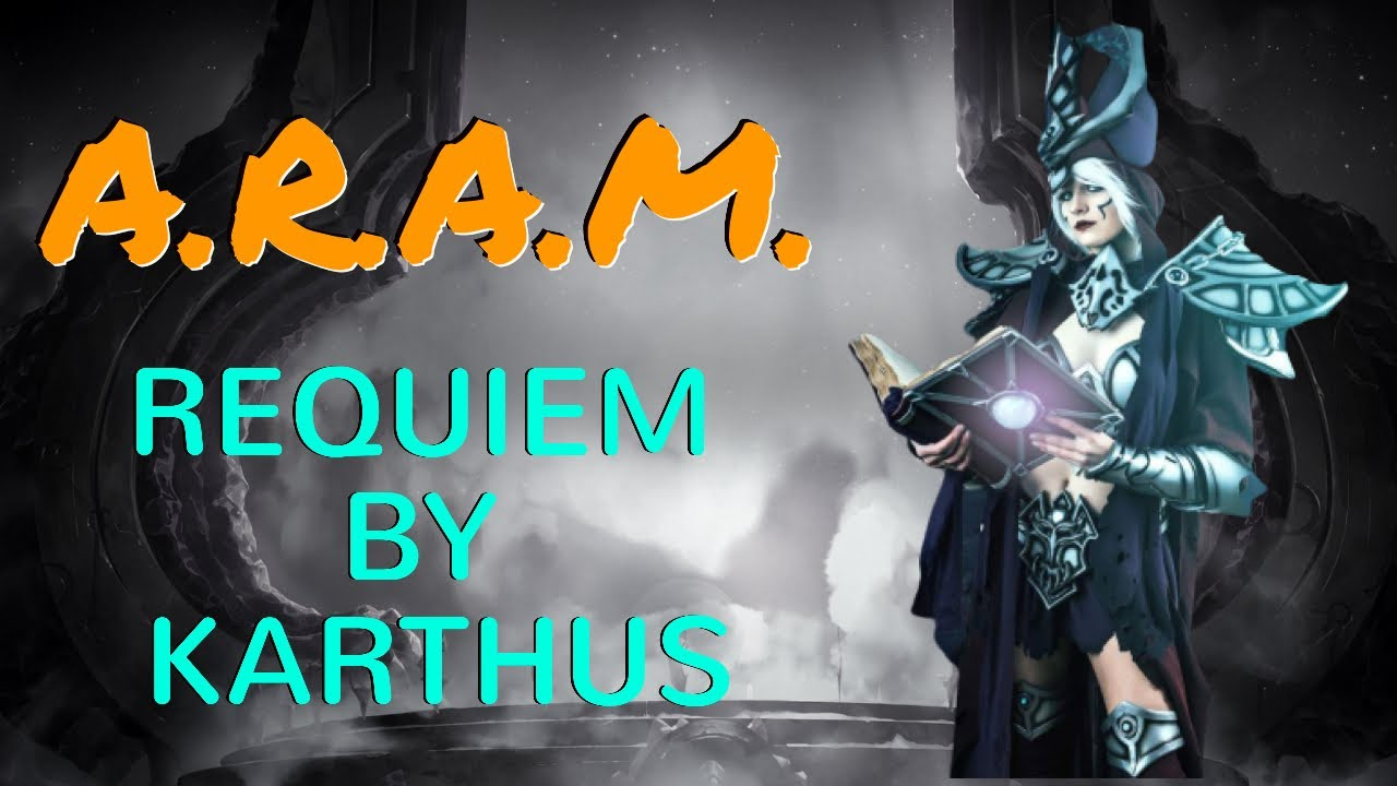League Of Legends Aram Karthus Victorious Builds Ever Op Youtube Spawn karthus is totally viable in aram from the steady experience and gold.remember, last hitting is for plebs and just press r. youtube