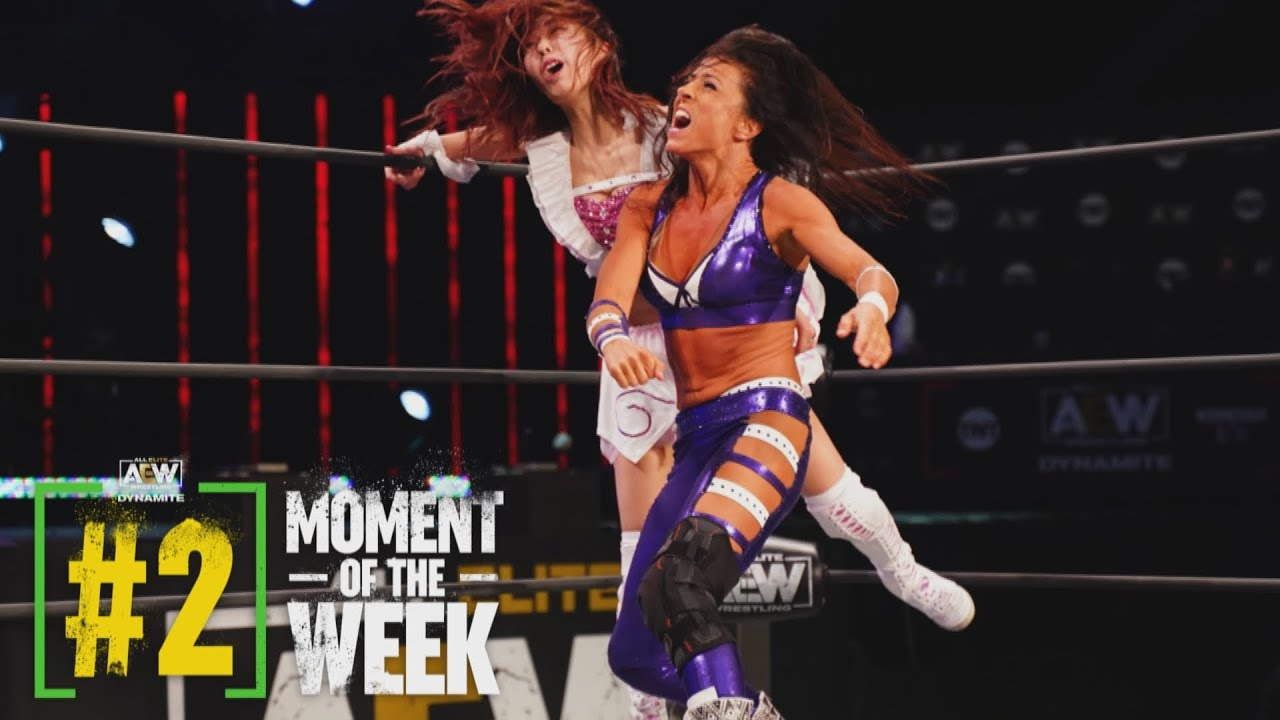 Was Riho Able to Move on in the Tournament in Her First Match in Nearly a Year?   AEW Dynamite