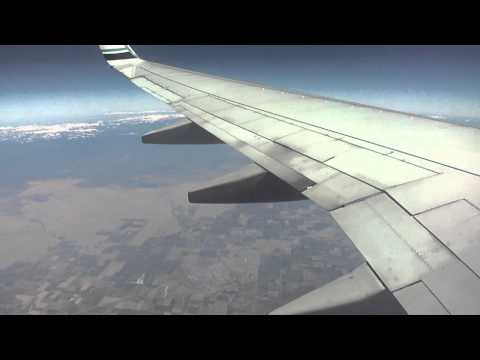 Seattle-to-Los Angeles flight:  Peaks, desert , Malibu, Westwood & Hollywood 2011-10-08