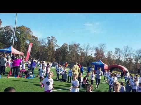 Fun Run 2017. Pleasant Knoll Elementary School.