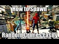 MARVEL'S SPIDER-MAN [PS4 PRO] - How To Spawn Random Crimes Easily {Thug, Demon, Prisoner, & Sable)