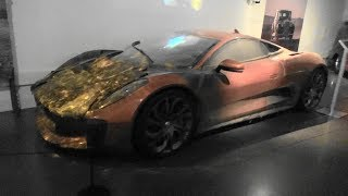 Jaguar C-X75 - Spectre - Bond in Motion - London Film Museum
