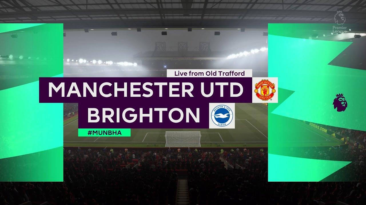Manchester United vs. Brighton FREE LIVE STREAM (4/4/21 ...