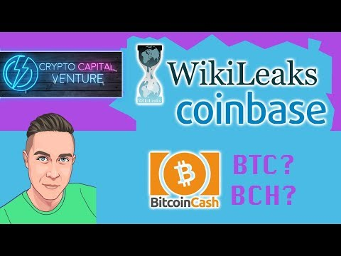 Wikileaks Calling Out Coinbase / Bitcoin Cash ...I Mean BTC ...I Mean Bitcoin.....I Mean BCH