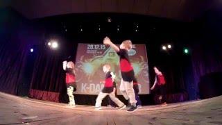 Отчетный концерт K-Dance Star 2015,  Группа 6-8 лет