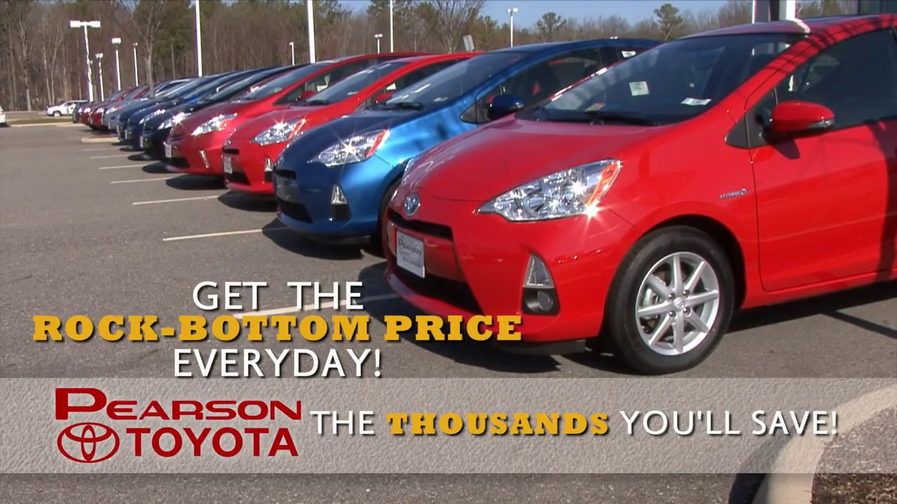 Pearson Toyota U0027Quick Response Priceu0027 Newport News,York  County,Gloucester,Hampton,Williamsburg, VA   YouTube