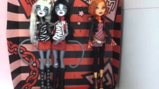Monster High Werecat Sisters AND Toralei Review - Meowlody and Purrsephone