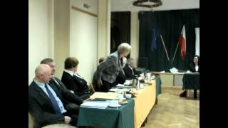 Jeziorany, sesja Rady Miejskiej 27 listopada 2013   wolne wnioski i zapytania cz IV