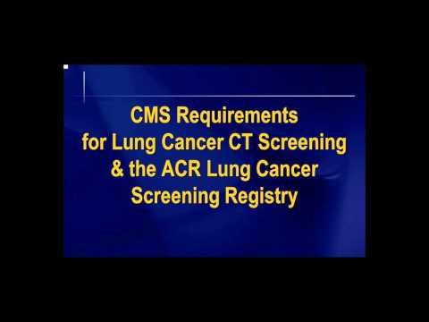 Lung Cancer Screening Webinar on Quality Control Guidelines Attracts Private Payers