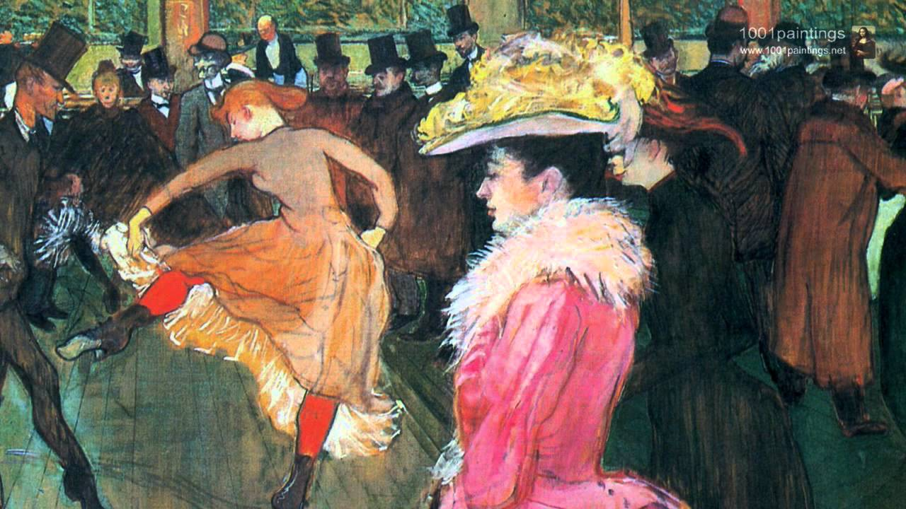 analyzing moulin rouge Figure 11: henri de toulouse lautrec, la goulue entering the moulin rouge (la   scholars who have researched and analyzed these works most fully are.