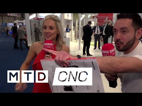 Lyndsey and Gio take a final tour on Friday at MACH 2018