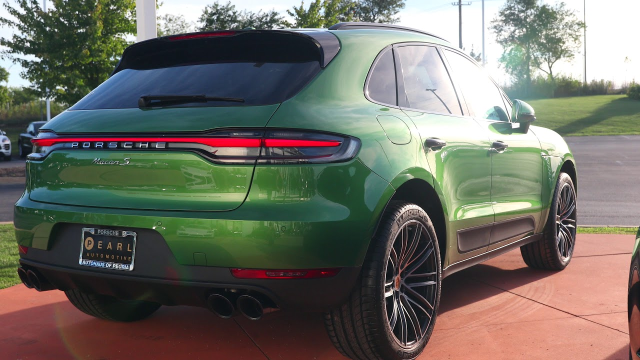 2019 Mamba Green Porsche Macan S