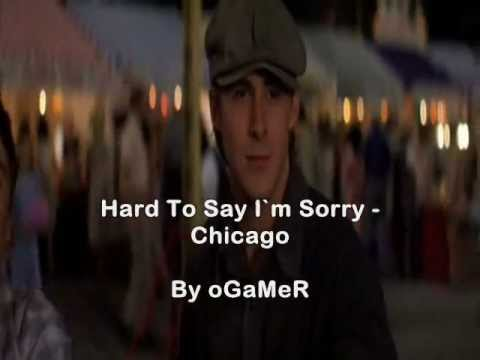 The Notebook - Hard to say im sorry