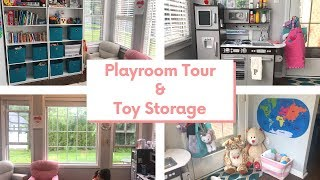 Toddler Playroom Tour | Toy Storage Solutions | Collab With MarionLoveNotes
