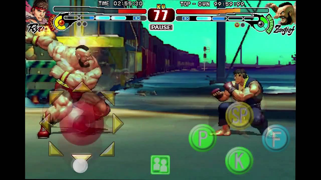 Street Fighter IV App Review ($0 99 Sale for Japan Earthquake Donations)