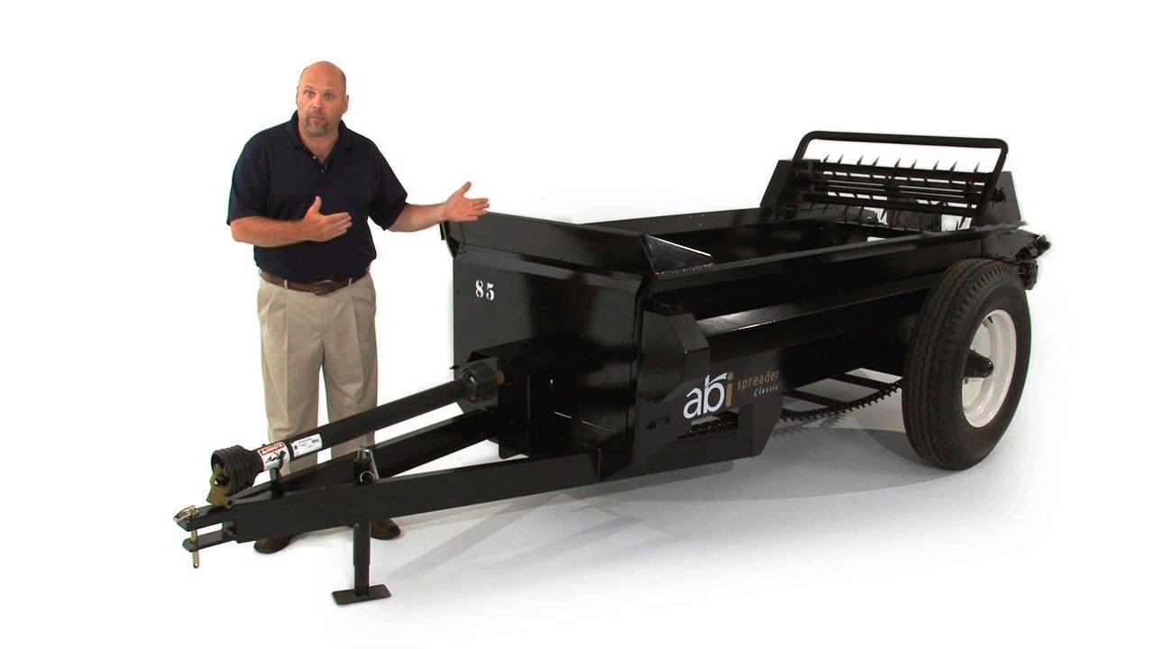 pto classic manure spreader product details by abi youtube