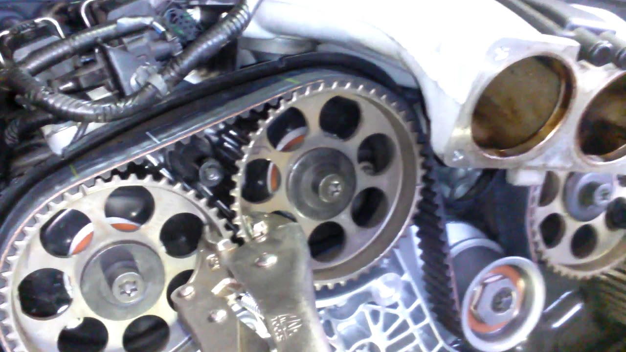 a r t timing belt install 3 0 3 2 v6 cadillac cts catera saab 9 5 cadillac catera 3 0 engine diagram [ 1280 x 720 Pixel ]