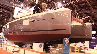 2016 Lagoon 39 Catamaran - Deck and Interior Walkaround - 2015 Salon Nautique de Paris