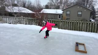 Paige - Ice Rink - Hockey Skates #2 - 02/08/2014