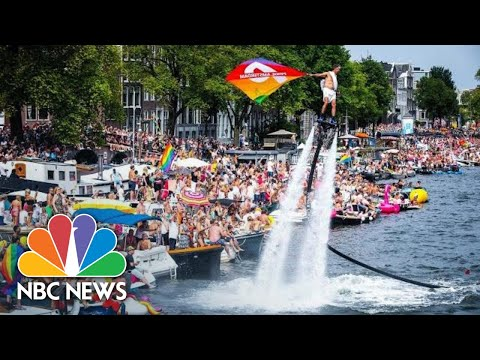 Thousands Celebrate Gay Pride Parade In Amsterdam | NBC News