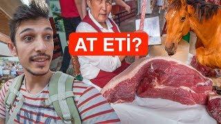 Burada AT ETİ satıyorlar (Çok Değerli) - Kazakistan FİYATLAR ve Sokak yemekleri