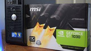 Core 2 Quad Q8400 + GT 1030 vs CS:GO & Rocket League