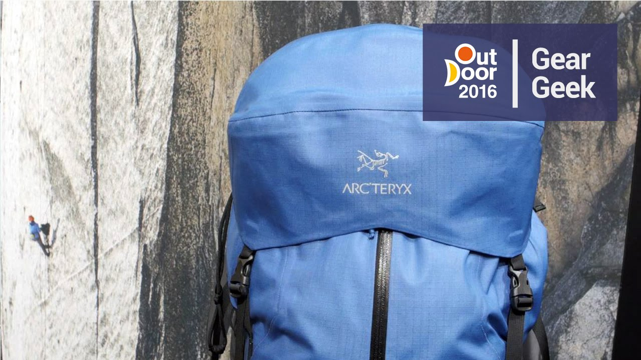 b4c9bfed5be Arc'teryx Bora AR Backpack | Outdoor 2016 - YouTube