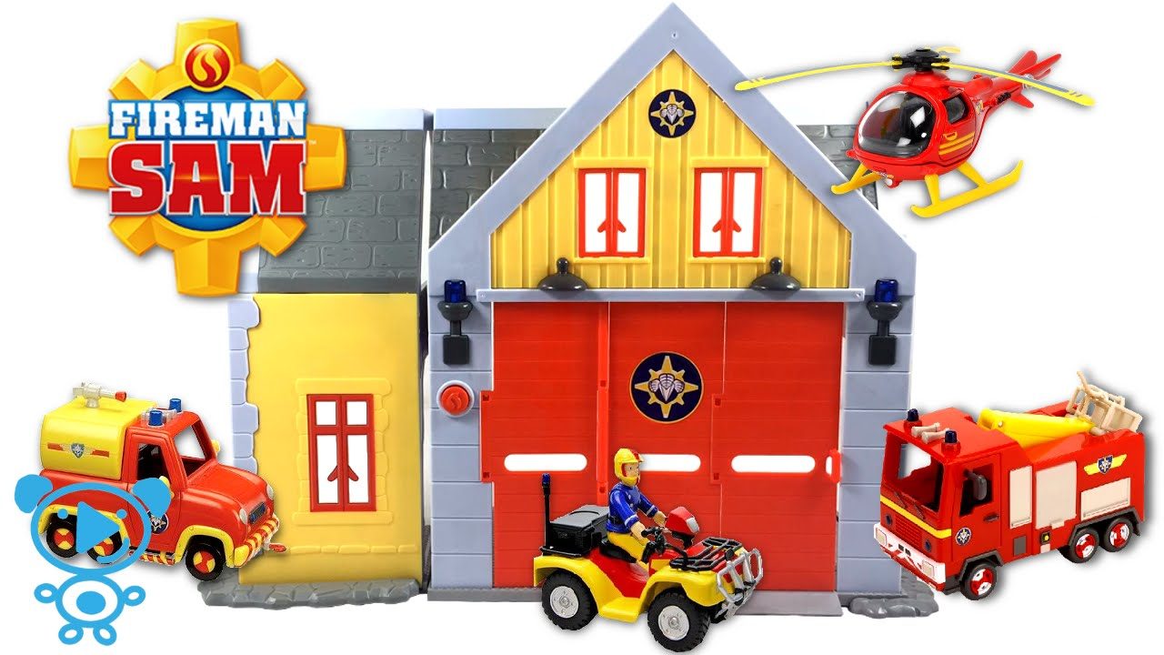 Best Fireman Sam Toys Kids : Fireman sam toys fire station and s vehicles