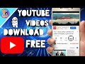 🔸How to Download YouTube videos Free!! | Hindi .
