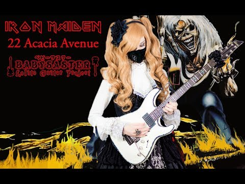 【Iron Maiden】 - 「22, Acacia Avenue」 GUITAR COVER (Full Instrumental) † BabySaster