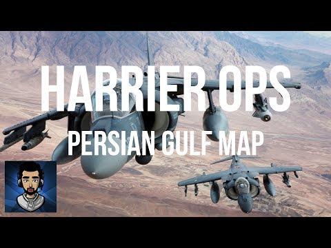 Harrier Desert Ops - sr! - DCS World Persian Gulf Map