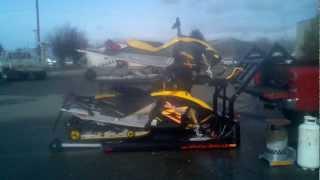 Hydraulic Sled Deck / Tufflift.net 208-661-3100